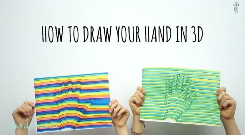 3D рука