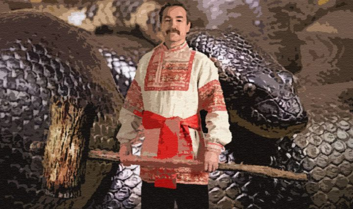 Как Василь змея одолел