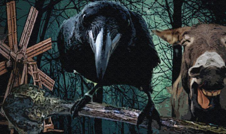 Подарки черного ворона
