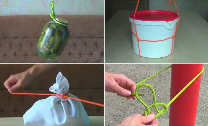 Как правильно вязать узлы