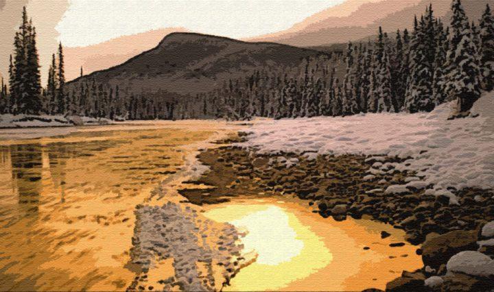 Кызымиль — золотая река