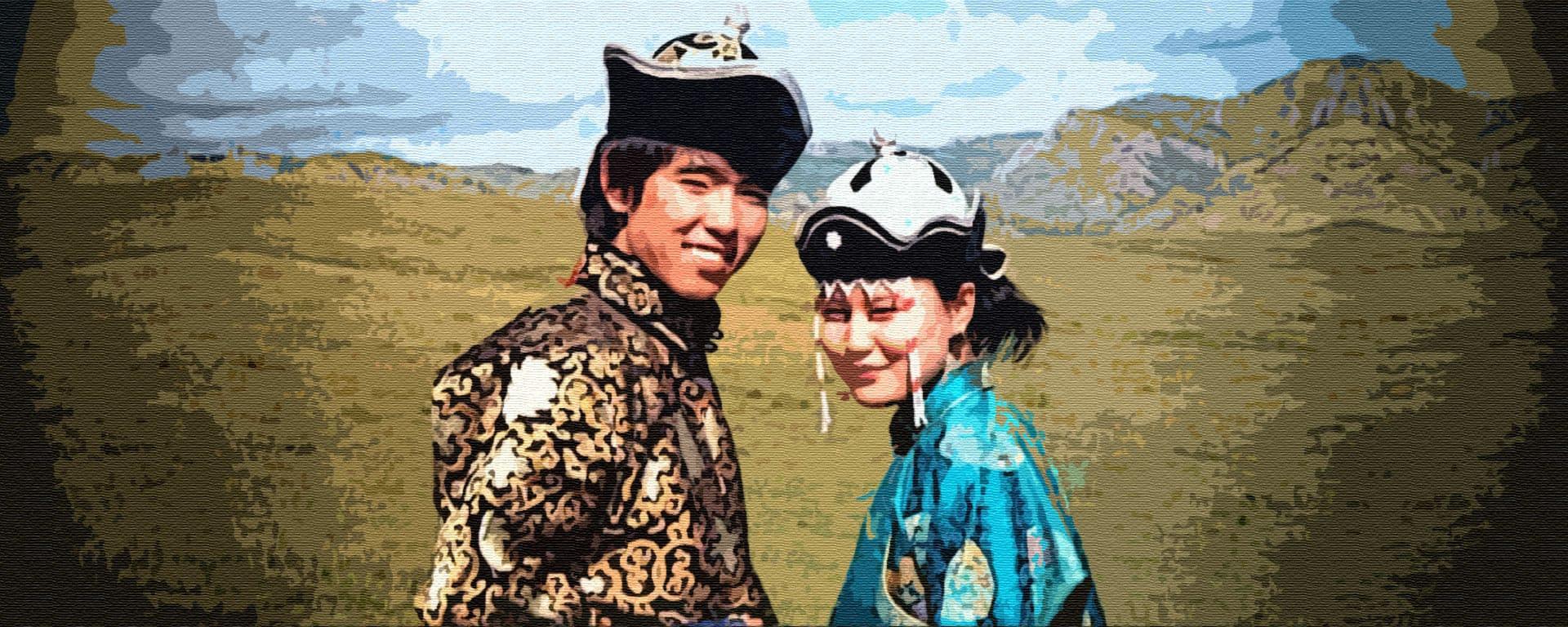 Сказка о бедняке Оскюс-Ооле и его мудрой жене