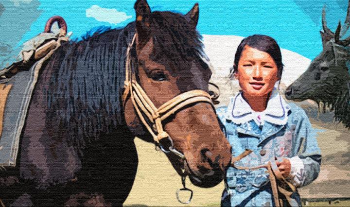 Конь и Изюбр