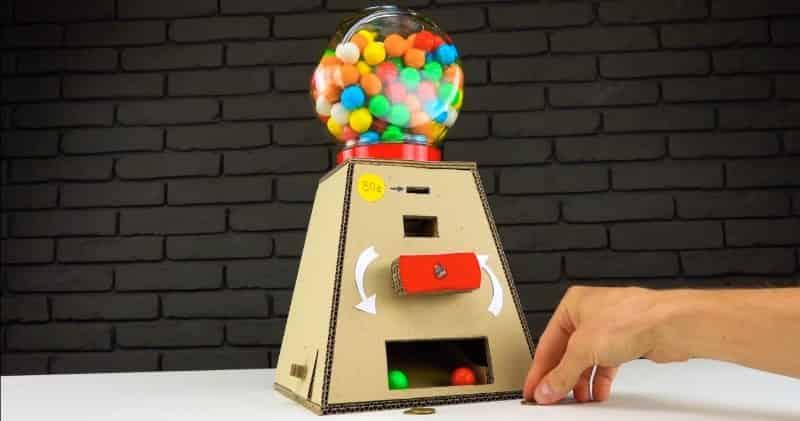 Аппарат выдачи сладостей с монетоприёмником своими руками